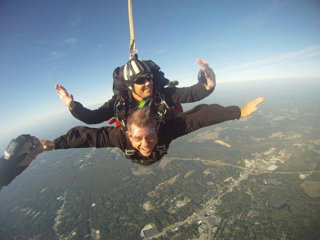 Ken Burger Skydiving